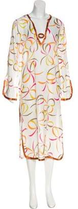 Anya Hindmarch Long Sleeve Maxi Dress