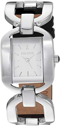 Steve Madden Women's Quartz Silver-Tone and Alloy Casual Watch