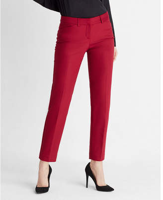 Express Low Rise New Waistband Editor Ankle Pant $79.90 thestylecure.com