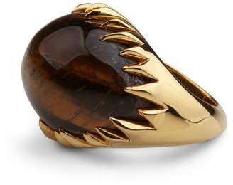 Kasun - Eye of Poseidon Ring Gold & Tigers Eye