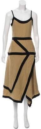 J.W.Anderson Linen Midi Dress