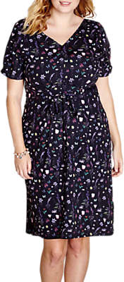 Yumi Curves French Botanical Day Dress