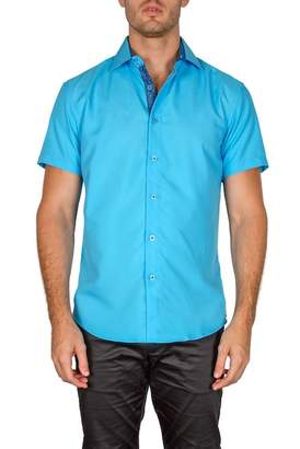 BC Collection Solid Short Sleeve Modern Fit Shirt