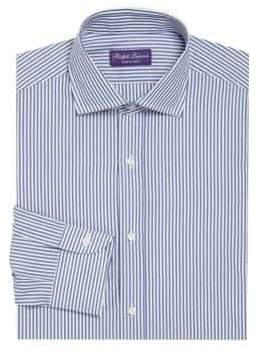 Ralph Lauren Purple Label Striped Regular-Fit Dress Shirt