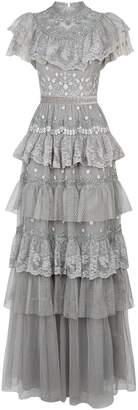 Needle & Thread Cinderella Tiered Lace Gown