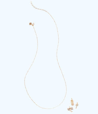 Lilly Pulitzer Long Charm Necklace Chain