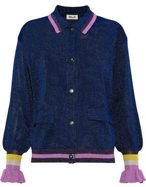 Baum und Pferdgarten Christie Metallic Stretch-Knit Jacket