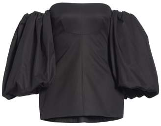 Ellery Countess Off the Shoulder Corset Top