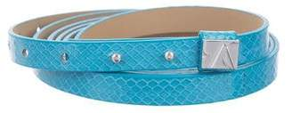 Diane von Furstenberg Leather Wrap-Around Belt