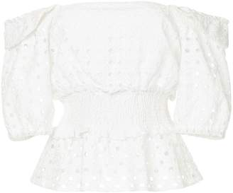 Suboo broderie anglaise top