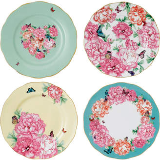 Royal Albert Miranda Kerr for Mixed Pattern 4-Pc. Accent Plate Set