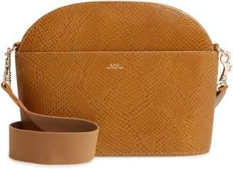 A.P.C. Gabrielle Sac Leather Shoulder Bag