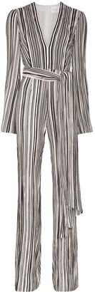 Galvan Taja striped jumpsuit