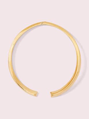 Kate Spade Raise The Bar Collar Necklace, Gold