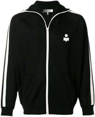 Isabel Marant zip front logo sports jacket