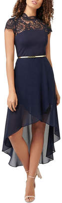 Forever New Cassie Lace Bodice Two in One Dress