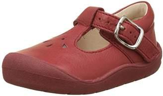 b5f05a6c28f7c Start Rite Girls' First Evy Closed Toe Sandals, Red 1 6UK Child