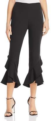 Aqua Ruffled Cropped Pants - 100% Exclusive