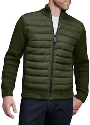 Canada Goose Men's Hybridge Knit Zip-Front Jacket