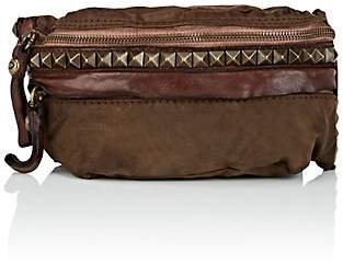 Campomaggi Women's Leather-Trimmed Canvas Belt Bag