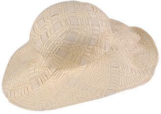 Grosgrain Straw Hat