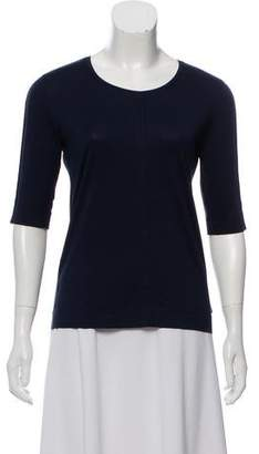 Akris Punto Scoop Neck T-Shirt