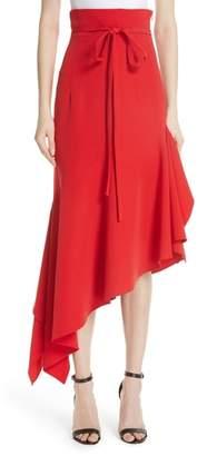 Milly Italian Cady Maxi Skirt
