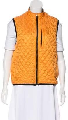 Obermeyer Quilted Zip-Up Vest