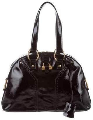 Saint Laurent Sac Muse Patent Leather Bag