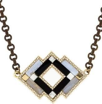 Lulu Frost Geometric Necklace $125 thestylecure.com