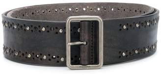 Saint Laurent studded belt