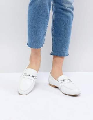 Asos Design Movement Leather Loafers