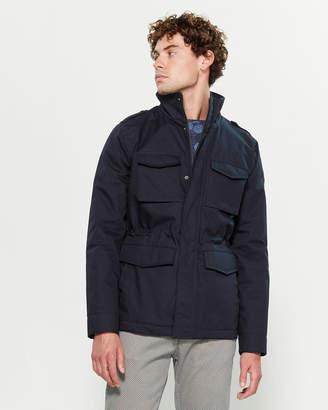 Dstrezzed Coated Cotton Field Jacket