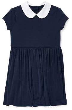 Ralph Lauren Little Girl's Peter Pan Collar Dress