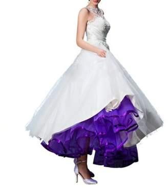 ONAMANO Women's Long Petticoats Crinoline Wedding Bridal Slips Underskirts