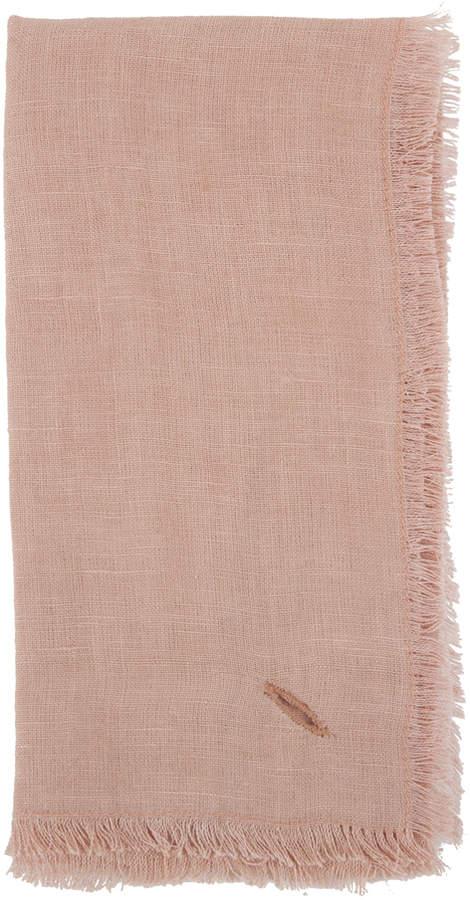 Sir Madam Solid Linen Napkins Set Of 4