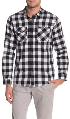 Buffalo David Bitton The Narrows Check Long Sleeve Regular Fit Shirt