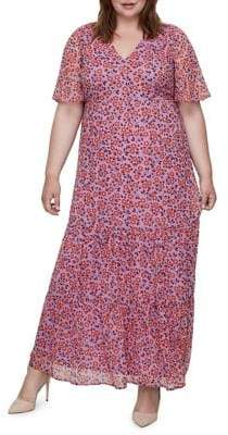 Junarose Plus Floral Maxi Dress