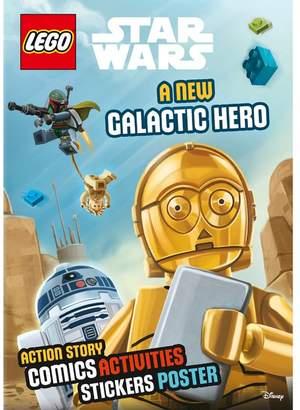 Harper Collins LEGO - Sticker Poster New Galactic Hero (Lnd 304) Book