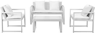 Pangea Chester 4Pc Sofa Set