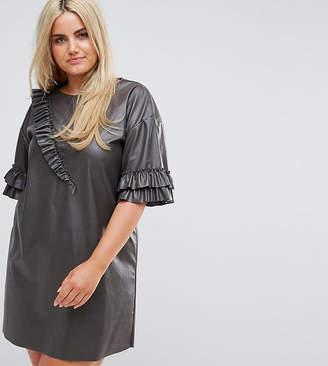 Plus Size Leather Dress - ShopStyle UK