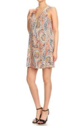 Ariella Sleeveless Mini Dress