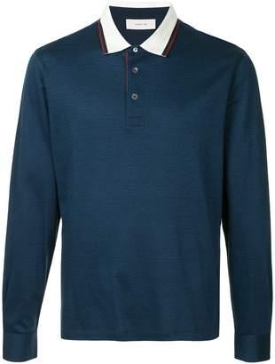 Cerruti long sleeve polo shirt