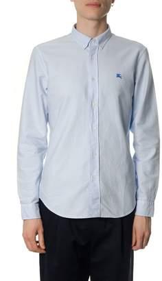 Burberry Light Blue Oxford Cotton Shirt