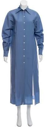 Celine Long Sleeve Wool Mohair-Blend Top w/ Tags