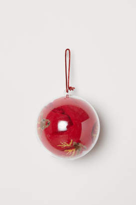 H&M Socks in Christmas Ornament - Red