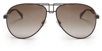 Givenchy Aviator Metal Sunglasses - Mens - Black