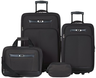 Skyway Luggage DeSoto 2.0 4-Piece Luggage Set