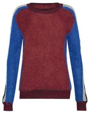 By Malene Birger Intarsia Mohair-Blend Sweater