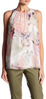 Vince Camuto Diffused Blooms Woven Blouse